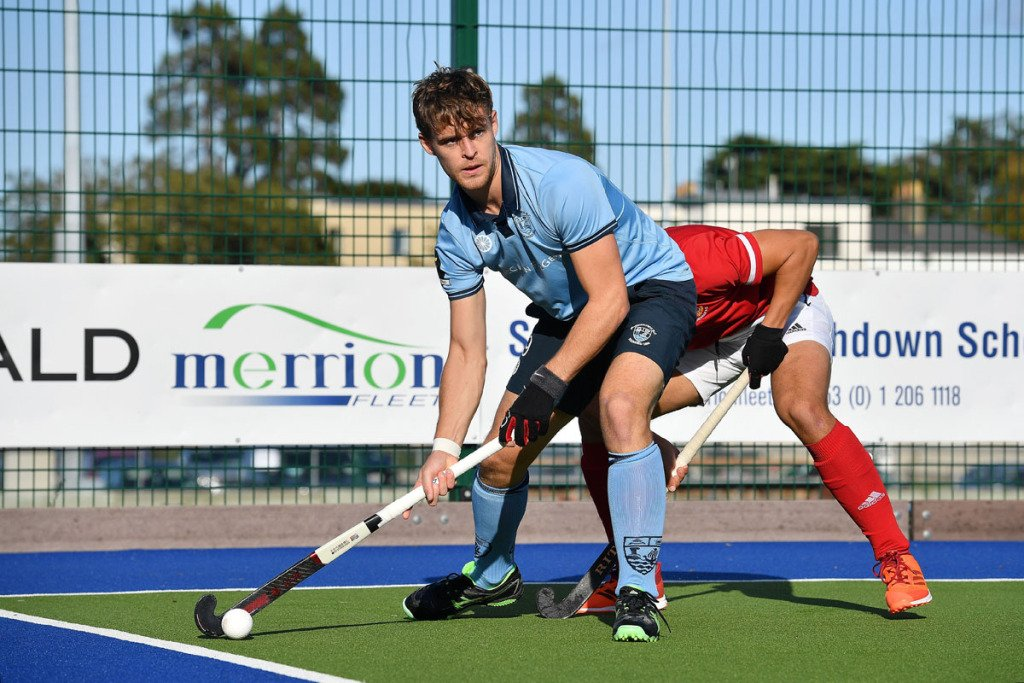 monkstowns lee cole who scored two goals to help monkstown to a 6 0 victory over corinthians in their opening match of the 2020 21 eyhl 1