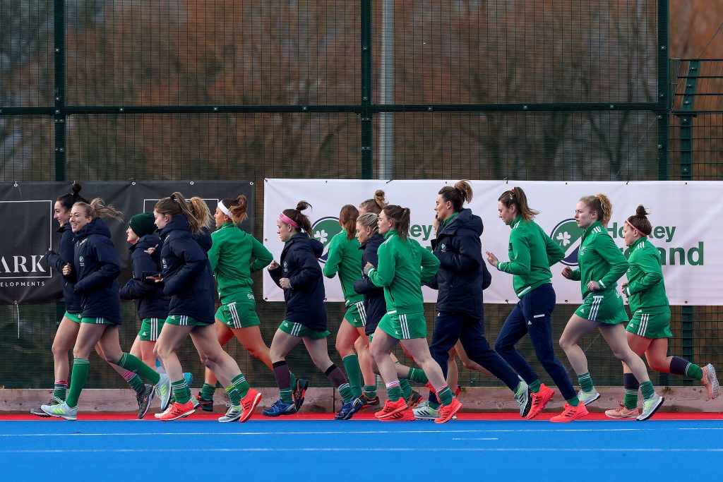 Inpho. Green Army Warm Up Ahead of GB Clash at SoftCo Series 2021