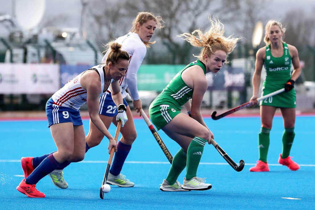 Ireland took on GB on home turf before welcoming Scotland in final european preperations