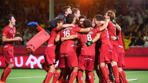 The Red Lions winners of the second edition of the Hockey Pro League
