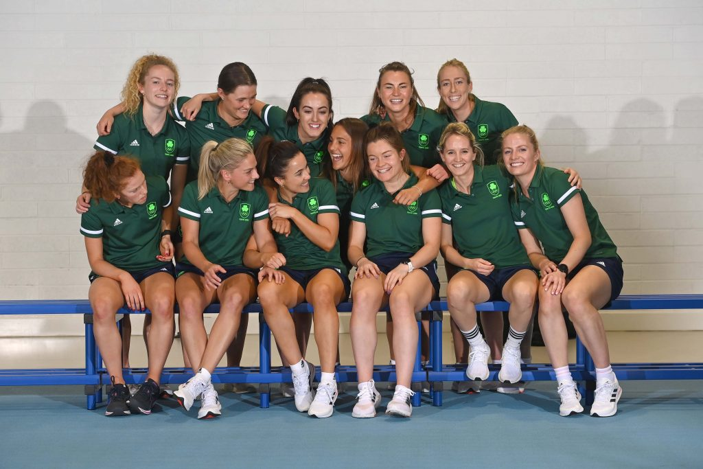 Ireland women's Hockey squad in a buoyant mood ahead of their first-ever Olympic Games