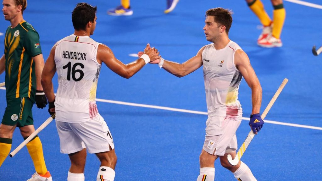 Belgium defeat South Africa 9-4 in festival of goals at Tokyo 2020