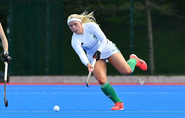 Ireland Captain Caimhe Perdue will lead her team at the Junior World Cup